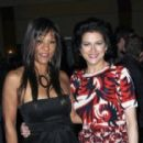 Actress Olivia Brown and Saundra Santiago of 'Miami Vice'