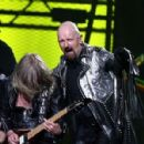 Musician Rob Halford of Judas Priest performs during the VH1 Rock Honors at the Mandalay Bay Events Center on May 25, 2006 in Las Vegas, Nevada - 454 x 298