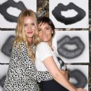 Rosie Huntington Whiteley Cassandra Huysentruyt Grey Hosts Artist In Los Angeles