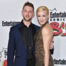 Katie Cassidy and Matthew Rodgers-  Entertainment Weekly Hosts Its Annual Comic-Con Party at FLOAT at the Hard Rock Hotel - 409 x 600
