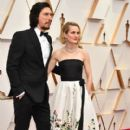 Adam Driver and Joanne Tucker At The 92nd Annual Academy Awards - Arrivals - 400 x 600