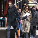 Alexa Chung & Alexander Skarsgard Out And About In NYC ( March 23, 2017) - 454 x 571