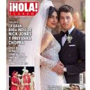 Priyanka Chopra and Nick Jonas - Hola! Magazine Cover [Ecuador] (19 December 2018)