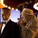 "GEORGE CLOONEY as Danny Ocean and CARL REINER as Saul Bloom in Warner Bros. Pictures' and Village Roadshow Pictures' ""Ocean's Thirteen,"" distributed by Warner Bros. Pictures. The film also stars Brad Pitt, Matt Damon, Andy Ga"