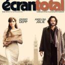 Angelina Jolie, Johnny Depp - Ecran Total Magazine Cover [France] (10 November 2010)