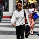 Thandie Newton – Shopping in Beverly Hills