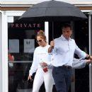 Jennifer Lopez – Wears a Givenchy Sweatshirt at a gym in Miami