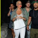 Amber Rose attends Beyonce and Jay Z's 'On The Run' Concert at the Rose Bowl in Pasadena, California - August 3, 2014 - 454 x 679