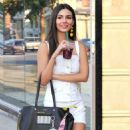 Victoria Justice – Shopping With a Friend in LA, July 2017