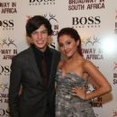 Graham Phillips and Ariana Grande