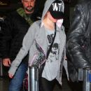 Avril Lavigne at LAX, March 27, 2011
