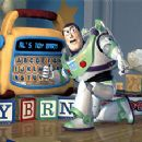 Buzz Lightyear consults Mr. Spell for information in Disney's Toy Story 2 - 11/99