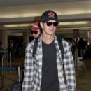 Hayden Christensen at LAX