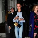 Alicia Vikander Leaving 34 Mayfair restaurant in London - 454 x 745