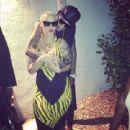Wiz Khalifa and Amber Rose - 454 x 439