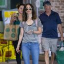 Megan Fox – Shopping Flower out in New Orleans