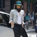 Russell Brand Films in NYC 2