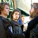 James Franco as Tristan, Henry Cavill as Melot and David O'Hara as Donnchadh in Tristan + Isolde (2006)