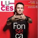 Fonseca (singer) - Luces Magazine Cover [Ecuador] (3 February 2019)
