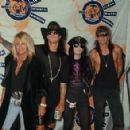 Motley Crue at the 1990 MTV Awards - 454 x 293