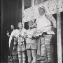 Zero Mostel,David Burns,Jack Gilford and John Carradine In The Original 1962 Broadway Cast Production Of A FUNNY THING HAPPENED ON THE WAY TO THE FORUM - 448 x 550
