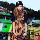 Cara Delevingne Vogue Brazil Magazine February 2014
