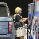 Holly Madison – Spotted at a gas station in Malibu