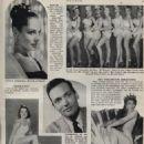 Myrna Hansen - De Lach Magazine Pictorial [Netherlands] (10 June 1955) - 454 x 629