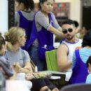 Ashley Greene spotted getting her manicure on at a salon in Beverly Hills, California on April 22, 2017 - 454 x 350