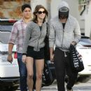 Ashley Greene In Short Shorts Out In Studio City