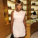 Serena Williams - Party Hosted By Louis Vuitton And Glamour To Celebrate The Magazine's 'Most Glamorous' Issue At Louis Vuitton On March 4, 2010 In Beverly Hills, California