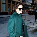 Anne Hathaway Style Out In New York