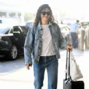 Emmy Rossum – Arrives at LAX Airport in LA - 454 x 644