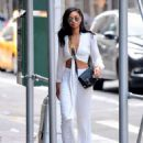Chanel Iman – Out and about in NYC - 454 x 593