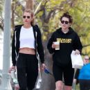 Kristen Stewart and Stella Maxwell – Grabbing breakfast and coffee in Los Angeles