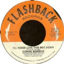 Dionne Warwick - I'll Never Love This Way Again / Deja Vu