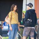 Katie Holmes – Filming 'The Secret' in New Orleans - 454 x 681