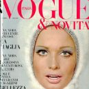 Susan Murray - Vogue Magazine Cover [Italy] (January 1966)