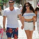 Basak Dizer & Kivanc Tatlitug out in Çesme, Izmir (June 21, 2016) - 454 x 753