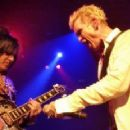 Billy Idol & Steve Stevens live at Paramount Theatre, Seattle on February 13, 2015