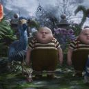 Dodo: Tweedledee and Tweedledum (voiced by Matt Lucas) in the scene of Walt Disney Pictures' Alice in Wonderland. © Disney Enterprises, Inc. All rights reserved. - 454 x 256