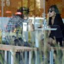 Stella Hudgens and boyfriend Eric Unger out in Studio City - 454 x 322