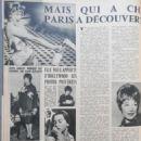 Shirley MacLaine - Cinemonde Magazine Pictorial [France] (15 December 1962) - 454 x 605