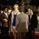 Karyn Parsons as Julie, Tim Meadows as Leon and Will Ferrell as Lance in Paramount's The Ladies Man - 2000 - 400 x 307