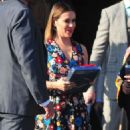 Alyssa Milano with David Bugliari to the Television Industry Advocacy Awards at TAO Hollywood - 454 x 926