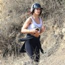 Vanessa Hudgens goes for a jog at Runyon Canyon on January 29, 2014