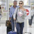 Joanna Krupa at LAX International Airport in Los Angeles - 454 x 642