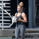 Hilary Duff – Seen in spandex after morning work out in Los Angeles