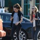 Elizabeth Olsen With a Friend – Out in Los Angeles 11/24/ 2016 - 454 x 651