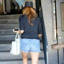 Kate Walsh runs errands in West Hollywood on August 6, 2013